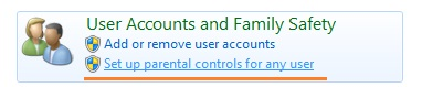 Windows 7 Parental Control
